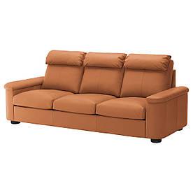 IKEA Диван кожаный LIDHULT (992.570.39)