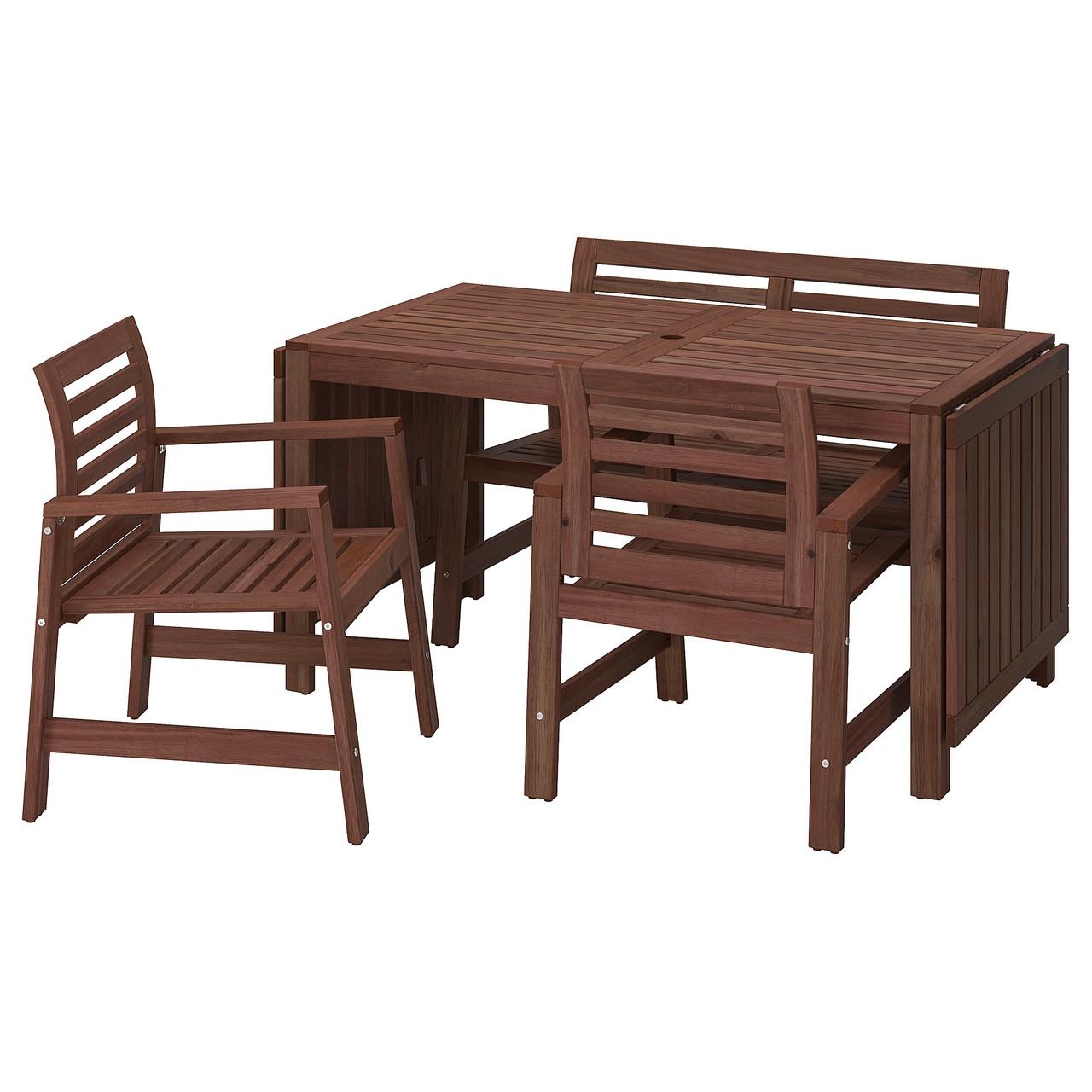 IKEA Комплект мебели садовый ÄPPLARÖ (498.984.78)