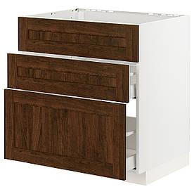 IKEA Шкаф METOD / MAXIMERA ( 893.356.17)