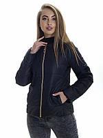 Женская демисезонная куртка Irvik ZK132 черная