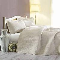 Комплект постельного белья Cotton Box Daily beige с покрывалом