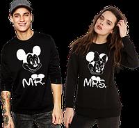 Парные свитшоты футболки худи (любой принт под заказ) в наличии черный, серый,темно-синий