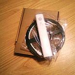 Светодиодная/Led лента с PIR датчиком движения 5V 4xAAA 3 метра теплый свет, фото 7