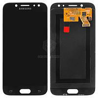 Дисплей для Samsung Galaxy J5 2017 J530F Оригинал Черный с сенсором #GH97-20738A/GH97-20880A