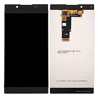 Дисплей для Sony Xperia L1 (G3311, G3312, G3313) Оригинал Черный с сенсором
