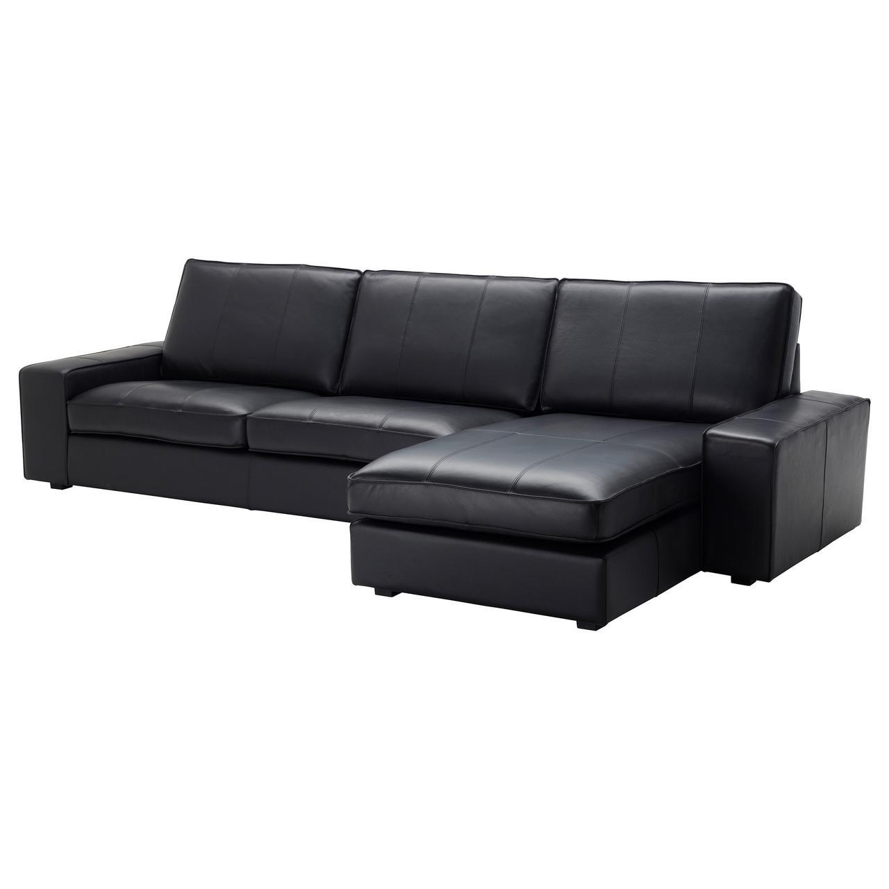 IKEA Диван кожаный KIVIK ( 099.047.06)