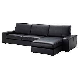 IKEA Диван шкіряний KIVIK ( 099.047.06)