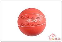 Медицинский мяч (Медбол)  4 кг