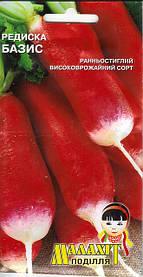 Семена Редис Базис 3г Красный (Малахiт Подiлля)