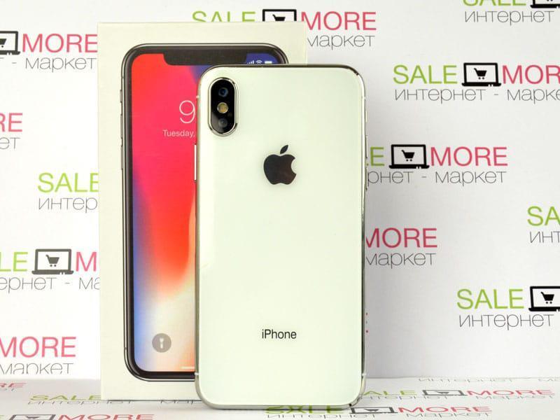 "Apple (Айфон 10) Iphone X 5"" 64Gb. 8-Ядер. Реплика Корея."