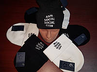 Шапка Anti Social Social Club (шапка Асск, Аssc)