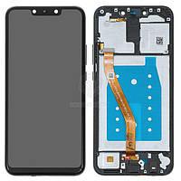 Дисплей для Huawei Mate 20 Lite SNE-LX1 Оригинал Черный с сенсором и рамкой