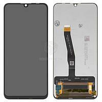 Дисплей для Huawei P Smart 2019 POT-LX1 Оригинал Черный с сенсором