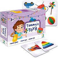 """Настольная игра с карточками для ребенка """"Игрушки Томми"""" DoDo"""