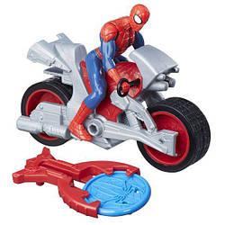 Фигурка Человека-паука 15 см на транспортном средстве со стартером (B9705_B9994)