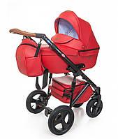 Универсальная детская коляска Broco Capri 2 в 1, красная (8430)
