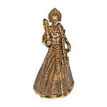 Подарочный колокольчик из бронзы Красавица с зеркалом