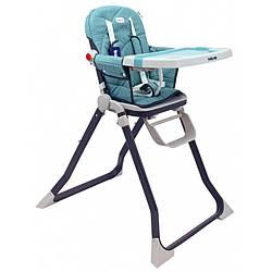 Детский стульчик для кормления  6-36 мес. Baby Mix Smart высокий CM-M006, зеленый