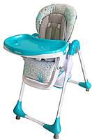 Детский стульчик для кормления Baby Mix Alexis Junior YQ188-3, голубой