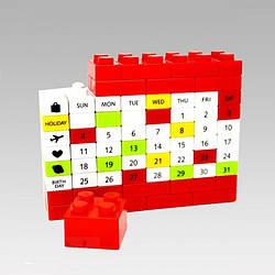Вечный Календарь PUZZLE, Red (123601)