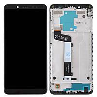 Дисплей для Xiaomi Redmi Note 5, Redmi Note 5 Pro Оригинал Черный с сенсором и рамкой