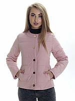 Женская демисезонная куртка Irvik KK133 розовая