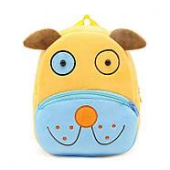 Детский плюшевый рюкзак Kakoo Желто-синий пес (оригинал), фото 2