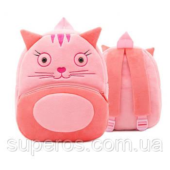 Дитячий плюшевий рюкзак Kakoo Котик (оригінал)