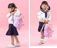 Дитячий плюшевий рюкзак для дівчинки Kakoo Їжачок, фото 6