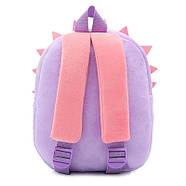 Дитячий плюшевий рюкзак для дівчинки Kakoo Їжачок, фото 3