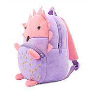 Дитячий плюшевий рюкзак для дівчинки Kakoo Їжачок, фото 2