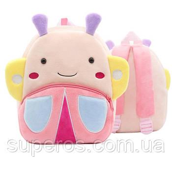 Дитячий плюшевий рюкзак Kakoo Метелик (оригінал)