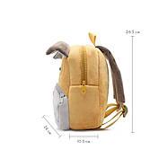 Дитячий плюшевий рюкзак Kakoo Бульдог, фото 4