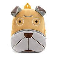Дитячий плюшевий рюкзак Kakoo Бульдог, фото 5