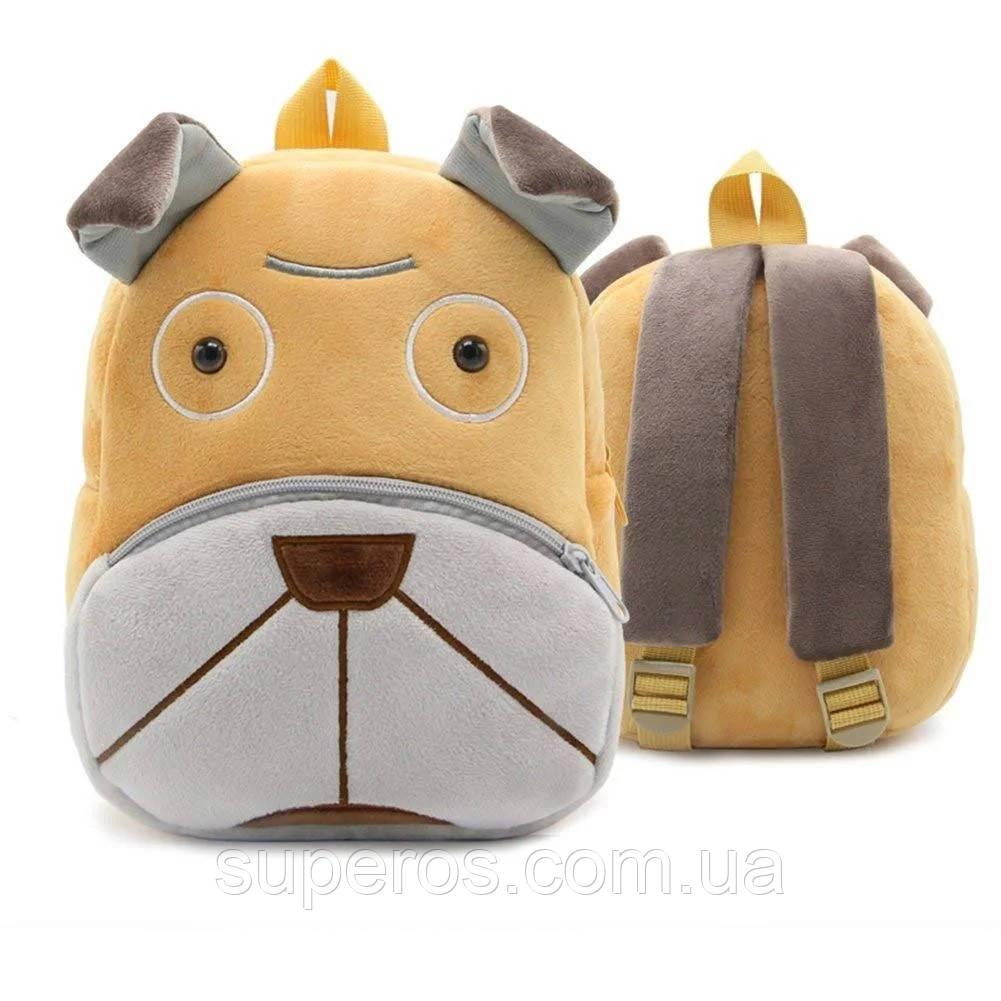 Дитячий плюшевий рюкзак Kakoo Бульдог