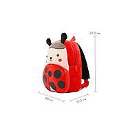 Детский плюшевый рюкзак Kakoo Божья коровка (оригинал), фото 5