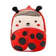 Детский плюшевый рюкзак Kakoo Божья коровка (оригинал), фото 4
