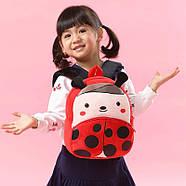 Детский плюшевый рюкзак Kakoo Божья коровка (оригинал), фото 6