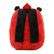 Детский плюшевый рюкзак Kakoo Божья коровка (оригинал), фото 3