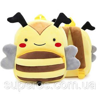 Дитячий плюшевий рюкзак Kakoo Бджілка (оригінал)