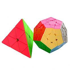 Детская головоломка 4 штуки в наборе Qi Yi Toys, разноцветная
