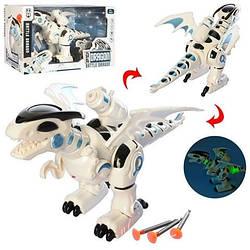"""Детская игрушка интерактивный робот динозавр MAYA TOYS """"Боевой дракон"""" (0830)"""