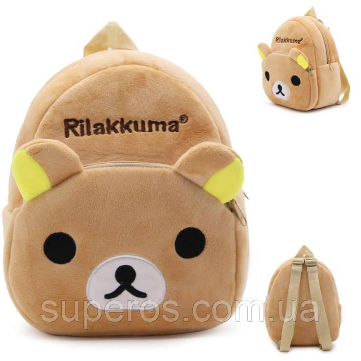 Детский плюшевый рюкзак Kakoo Мишка