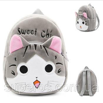 Дитячий плюшевий рюкзак Kakoo Кавайний котик (оригінал)