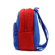 Детский плюшевый рюкзак Kakoo Superman (оригинал), фото 2