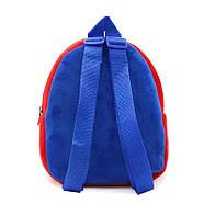 Детский плюшевый рюкзак Kakoo Superman (оригинал), фото 4