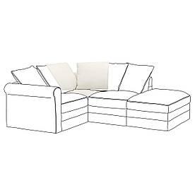 IKEA Модульная секция дивана GRÖNLID (592.547.02)