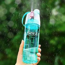 Спортивная бутылка для воды с распылителем New B, blue (121968)