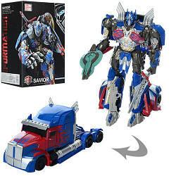 Детская игрушка робот-трансформер A-Toys, синий