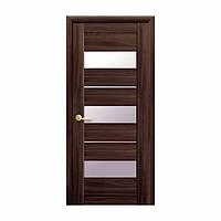 Межкомнатная дверь Новый стиль Лилу 800мм орех со стеклом
